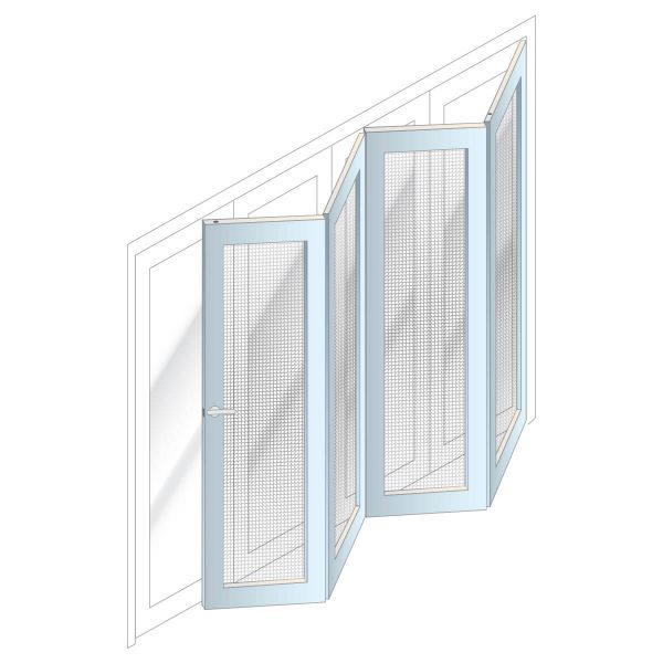 Bi-Fold Security Doors